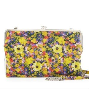 Hobo Leanne Floral Leather Convertible Clutch Bag